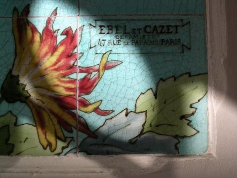 8 rue Mélingue, céramiste Ebel et Cazet