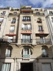 8 rue mélingue, façade