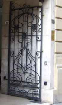porte liberty, Piazza Mazzini, Modena